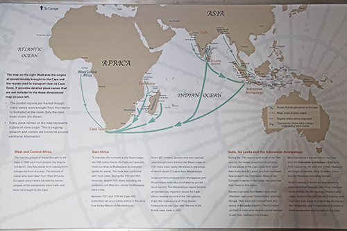 Map Of Africa During Slave Trade.Slave Routes To The Cape Heritage Of Slavery